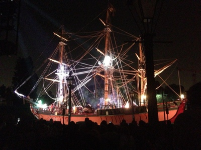 Fantasmic! at Disneyland