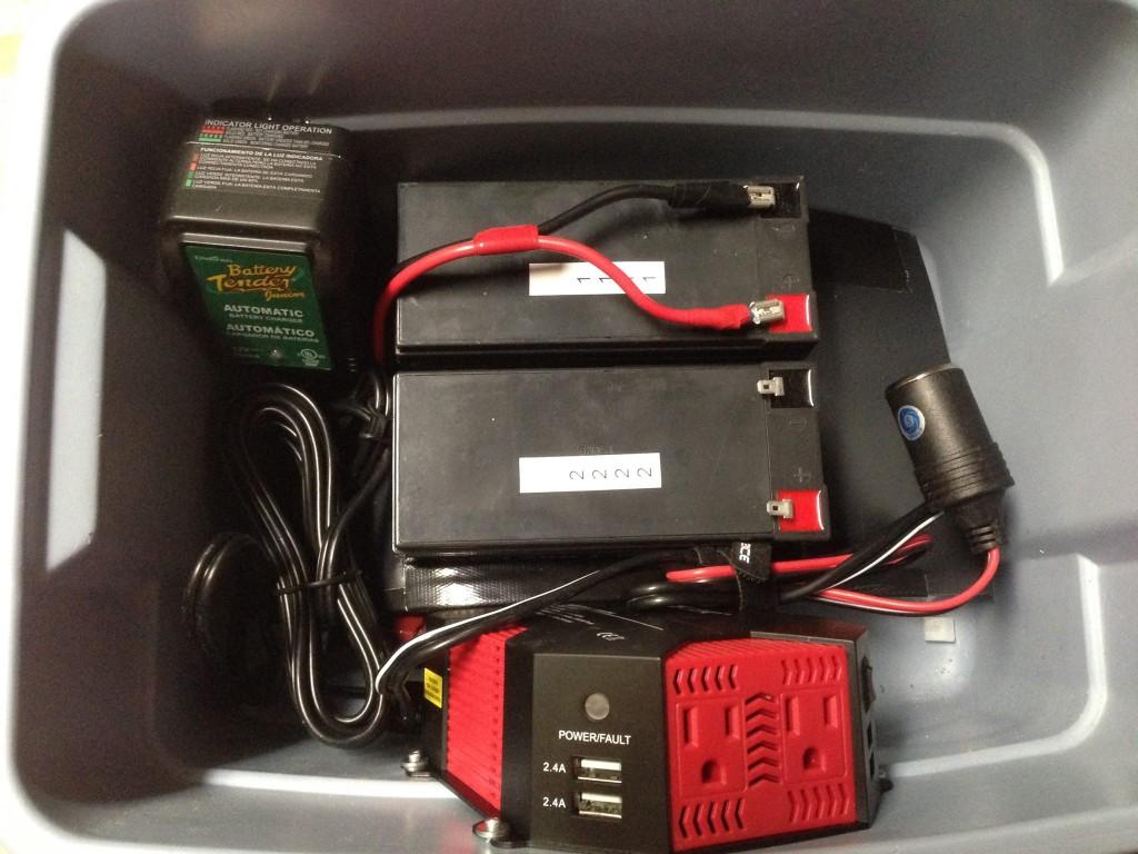 Trade Show Battery